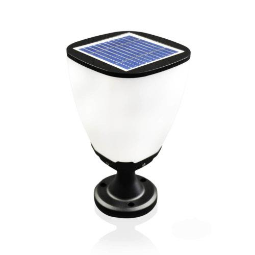 Solarna Lampa grodowa w kształcie kielicha