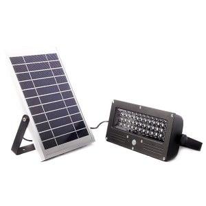 ogrodowa lampa solarna slc-09, Lampa LED SLC-09 z panelem solarnym
