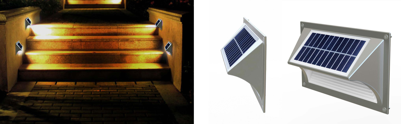 Solarna lampa na schody
