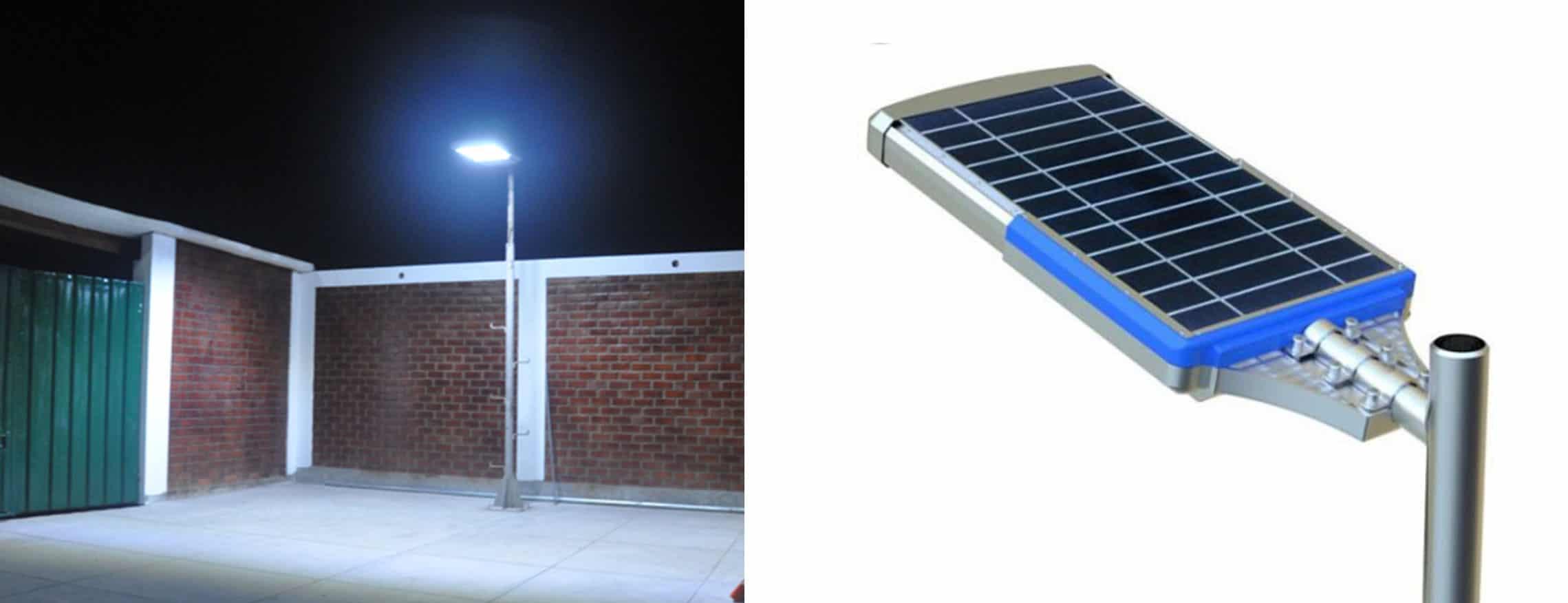hybrydowa latarnia solarna