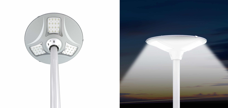 Solarna latarnia uliczna SLC - 900R 9W LED