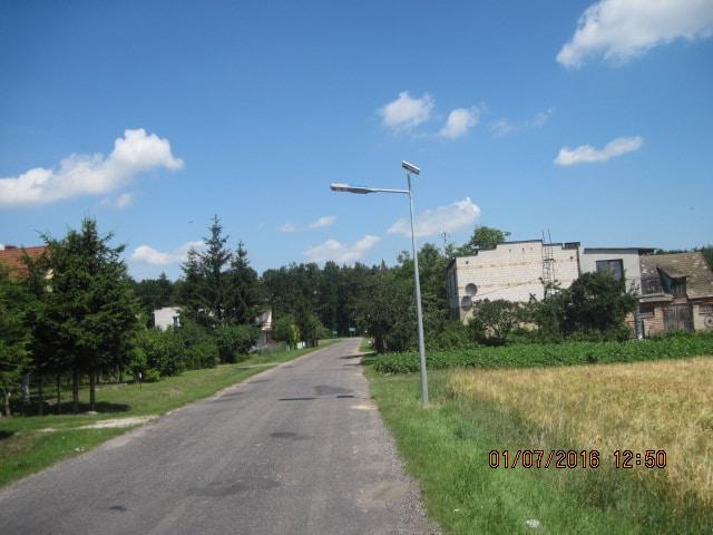 Realizacja - Gmina Gąsawa - Latarnie Solarne marki Calidus