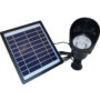 Solarna lampa ogrodowa punktowa