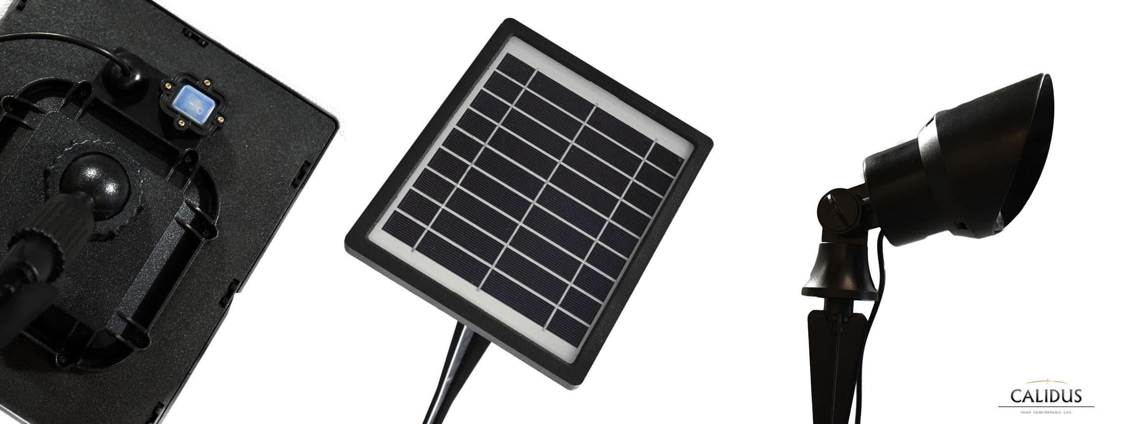 Solarna lampa punktowa LED