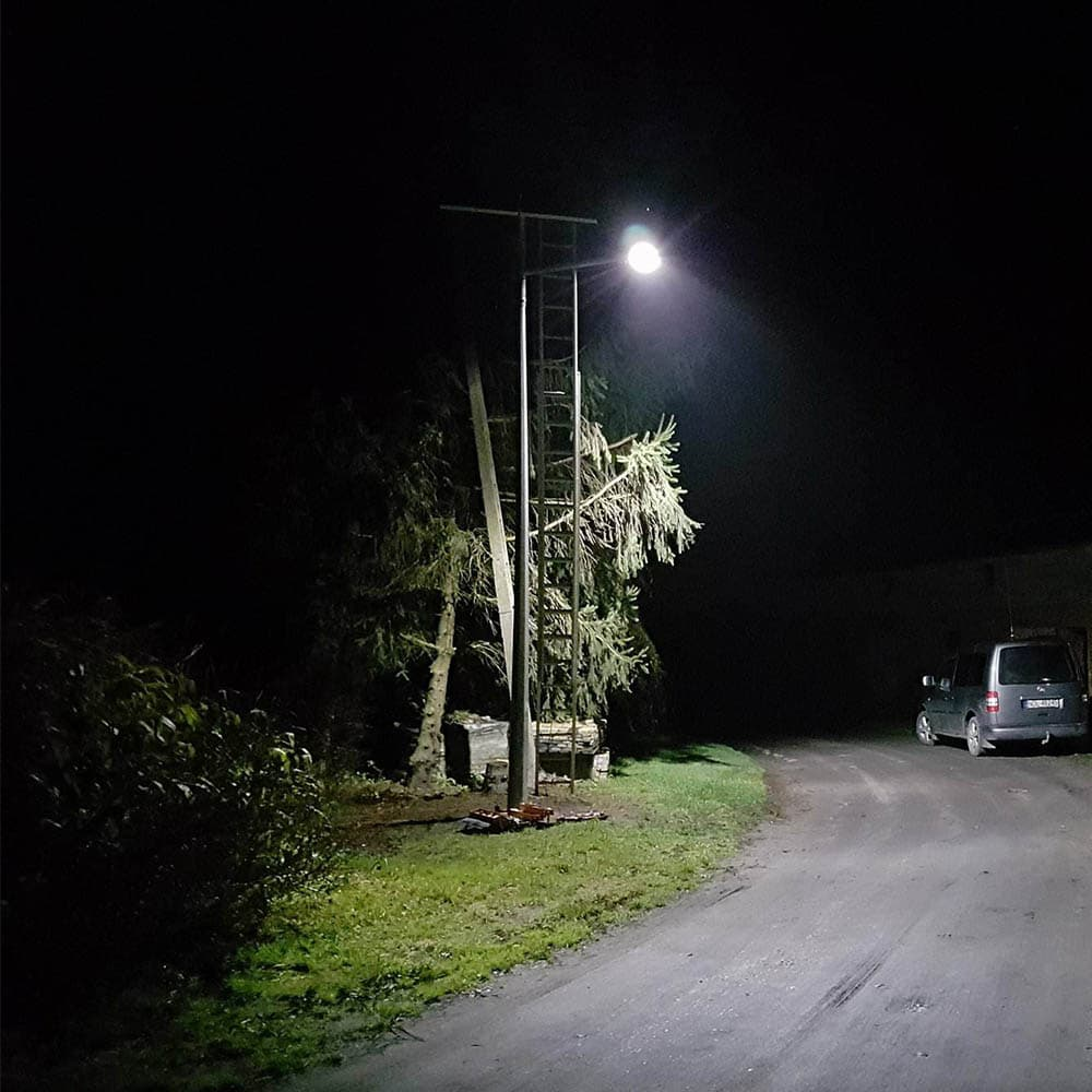 Latarnia solarna Gmina Dobrcz