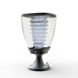 Lampa solarna niska do ogrodu