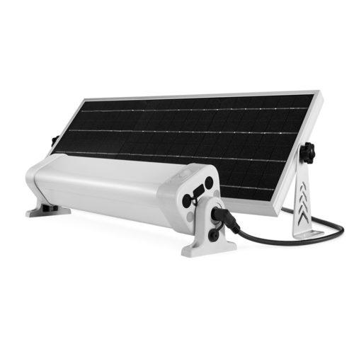 Zestaw solarny z lampą
