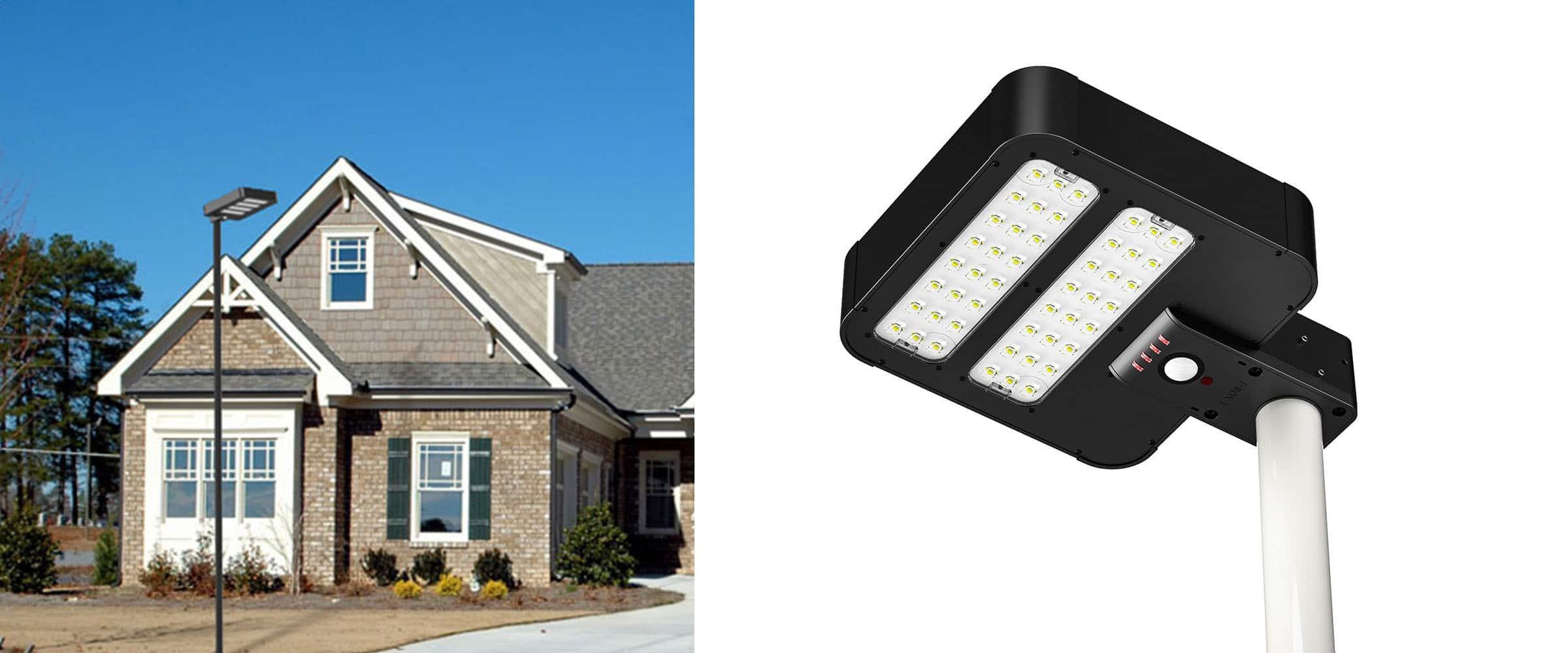 Solarna kompaktowa latarnia