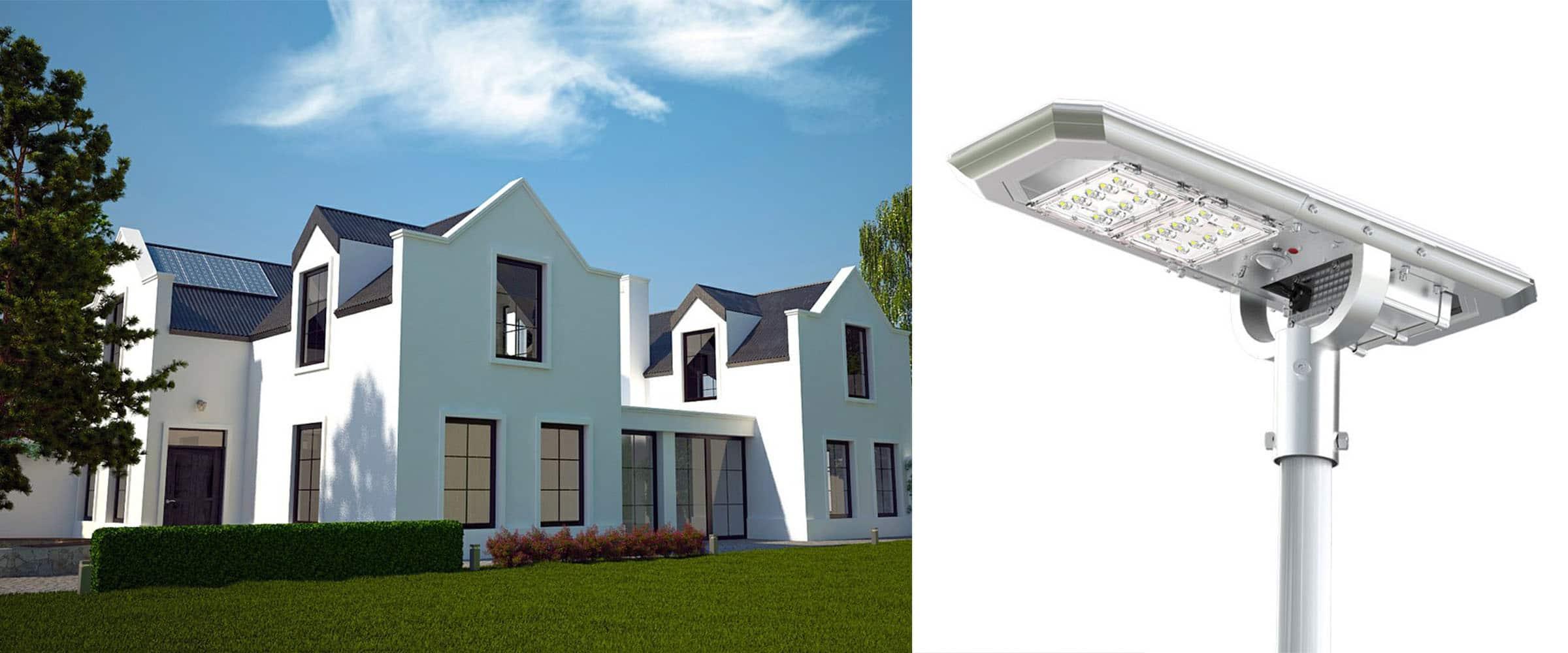 Solarna latarnia uliczna 12,5