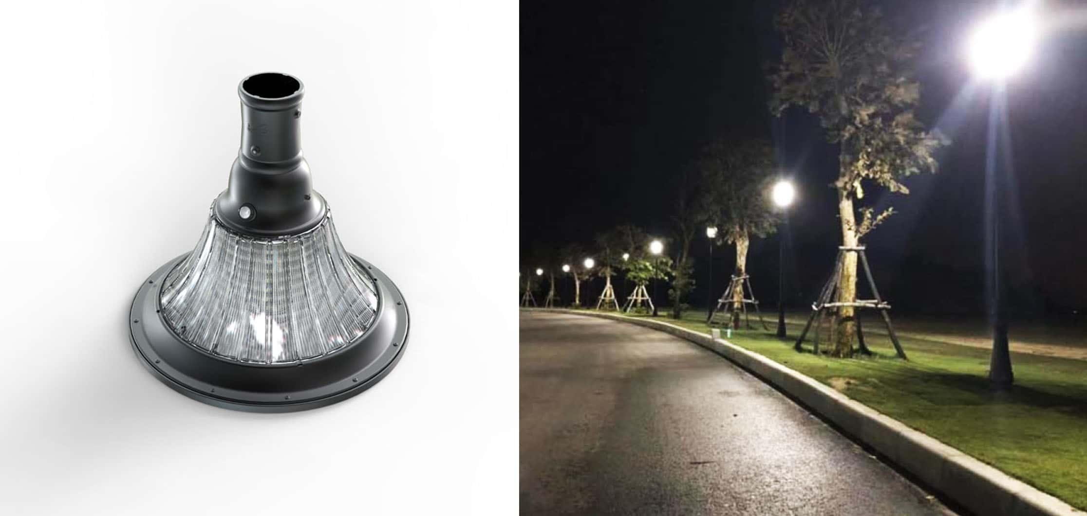 latarnia solarna uliczna