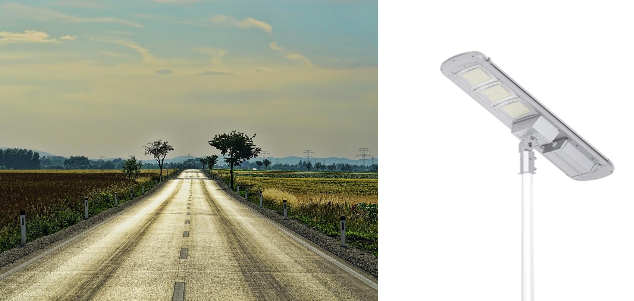Solarna latarnia uliczna 30W