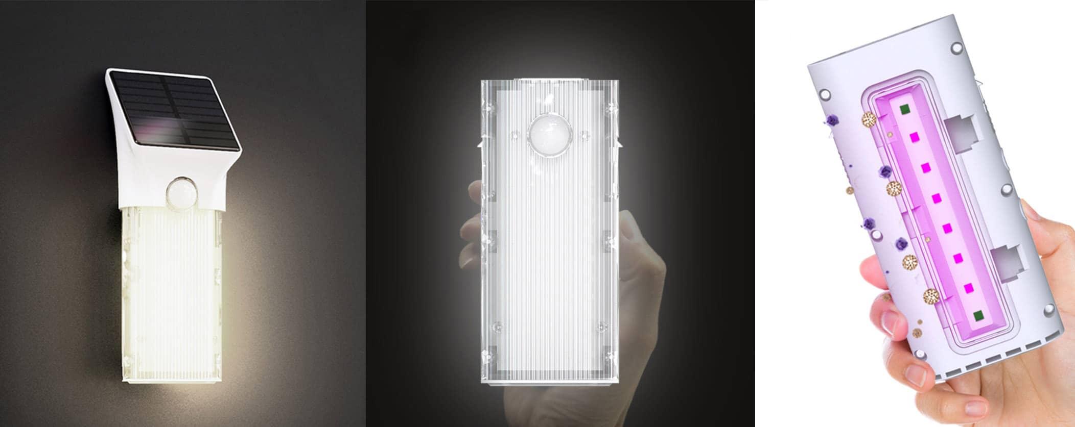 Solarna lampa UVC