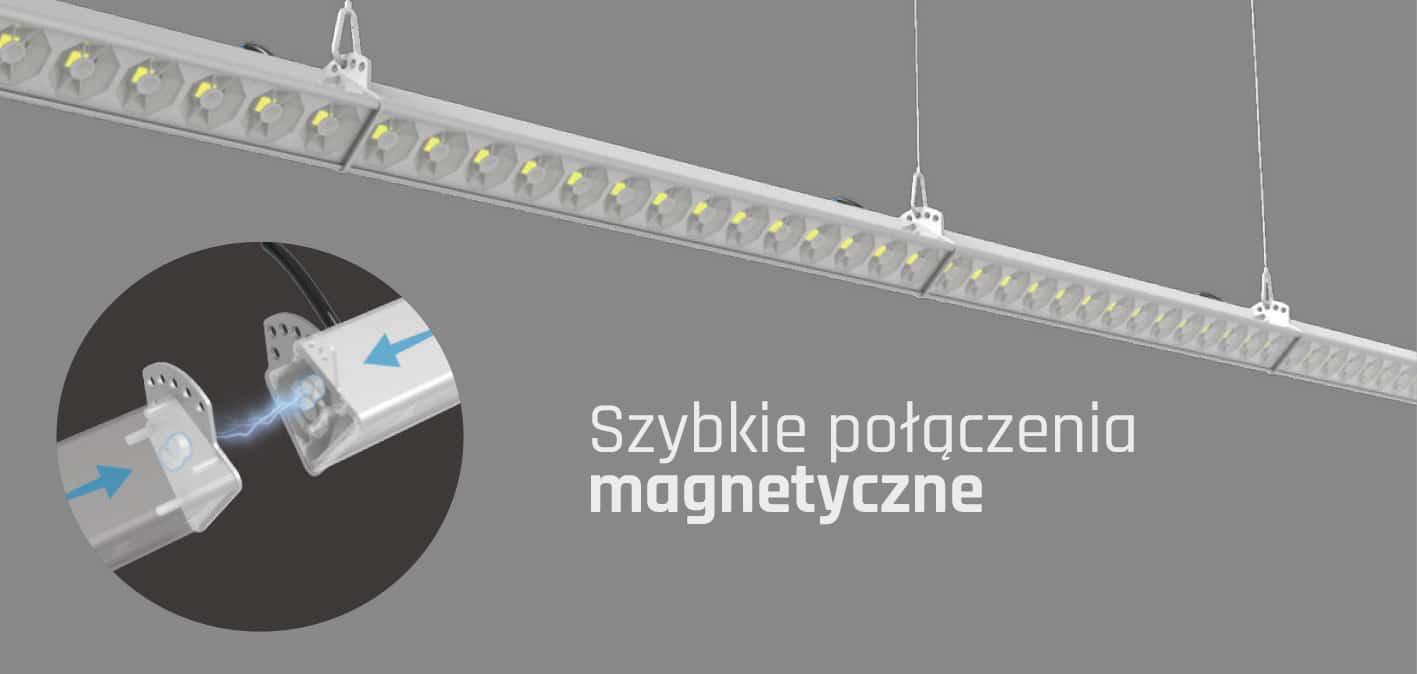 Łączenie lampy liniowej